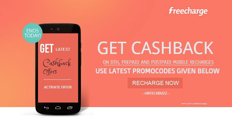 Freecharge dth coupons