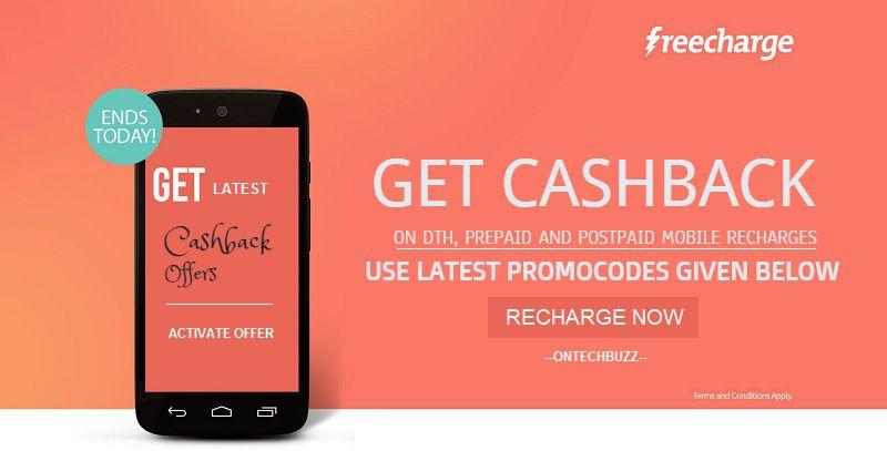 Freecharge Promo Code 28-29 Oct 2017 flat 400% Cashback